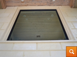 Beveled Panels with Window Surround
