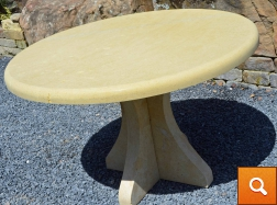 Custom Cream Table