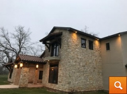 Claymore -Stone/Stucco Home