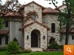Georgetown Cave Blend - Stone & Stucco Home