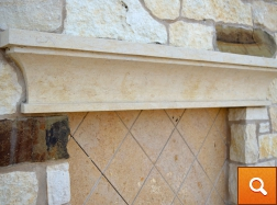 Window Accent - Natural Stone
