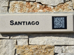 QR Code - Natural Stone Display Walls