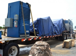 Park Industries saws being delivered!