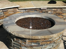 Fire Pit Cap, Wall Cap, Retaining Wall