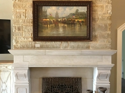 Custom Arvada Fireplace Surround
