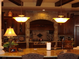 natural stone, kitchen, thin veneer, interior stone, stone yard houston, chopped stone