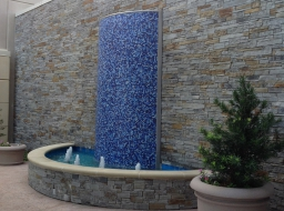 Ledgestone Fountain at Cook Childrens Hospital - Fort Worth, Texas