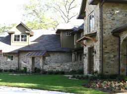 Stone Exterior - Natural Earth Tones
