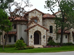 Stone/Stucco Home