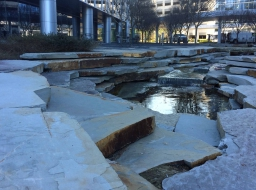 Commercial Hardscapes- Water Feature